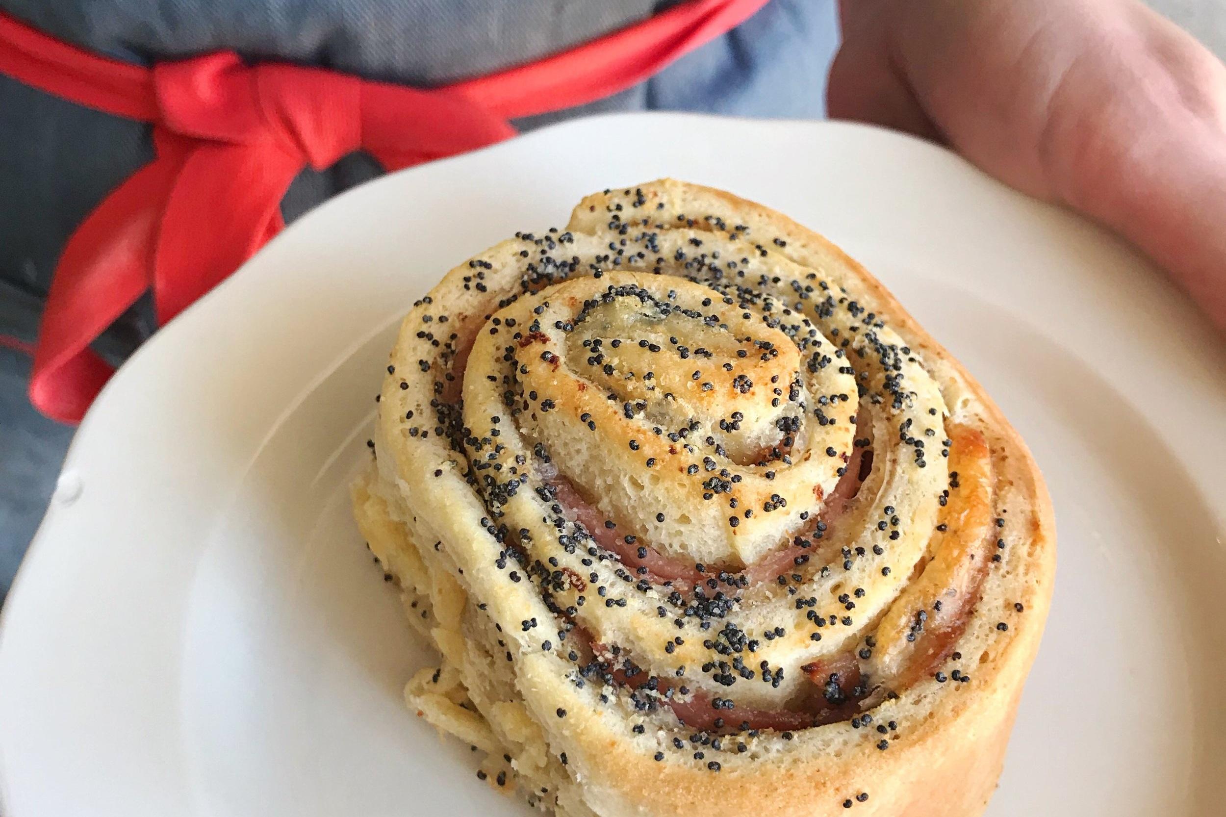 Ham & Swiss Rolls (Fridays only)  Pre-order minimum 8, 48 hours' notice