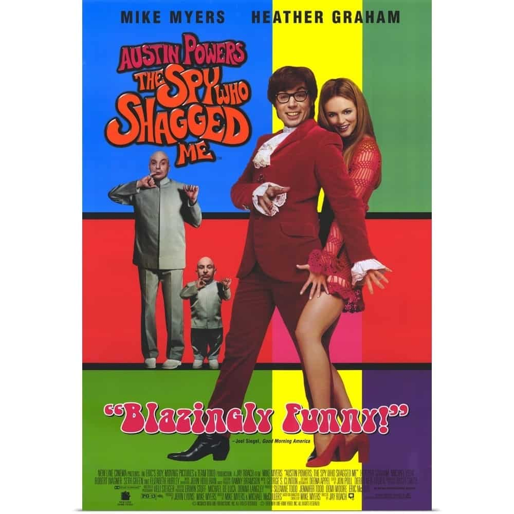 Austin Powers The Spy Who Shagged Me Suzanne Todd Productions