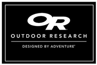 warm & cozy - Outdoor Research provided a generous professional program discount to PatrolForward. They make super lightweight rain gear and athletic apparel. Thank you!