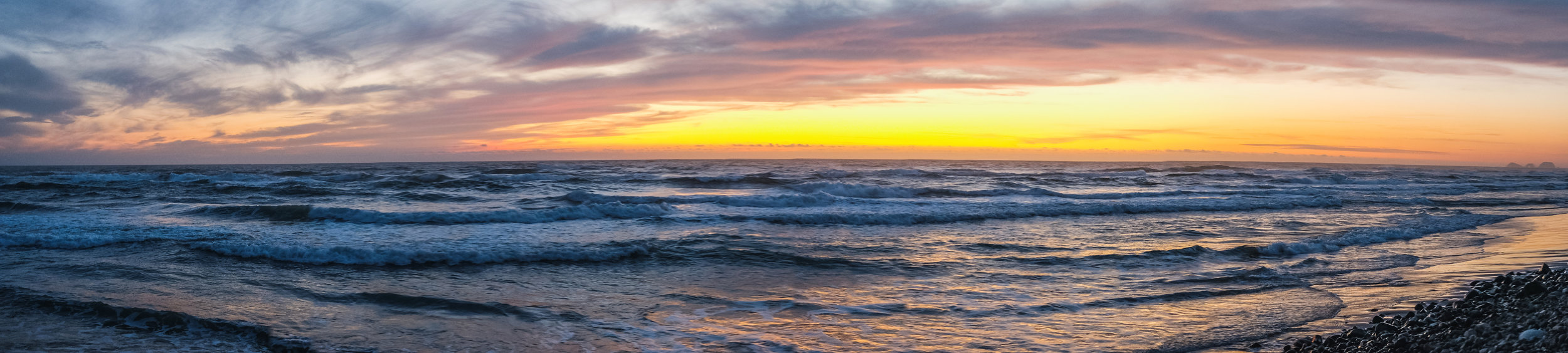 Cape Lookout Sunset From Beach-.jpg
