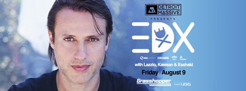 EDX with Lazzlo, Kawsan & Esshaki at Grasshopper Underground