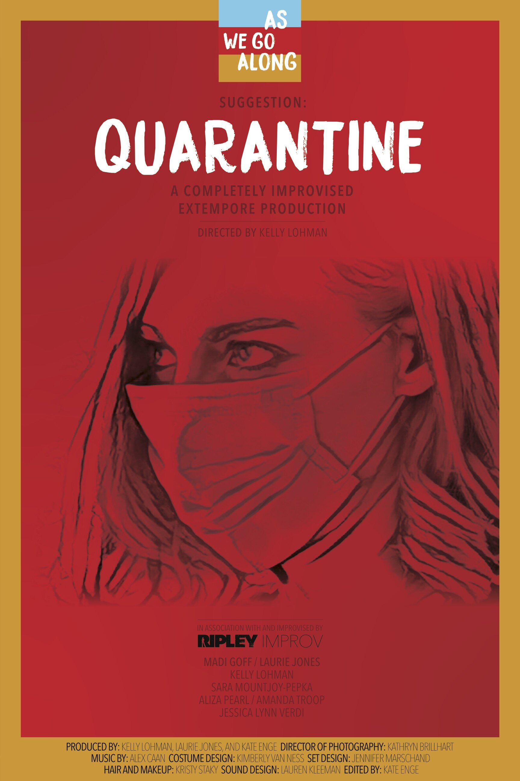 Quarantine- Confined to a house none of them live in, six female strangers try to comprehend and survive a national epidemic, even as their minds and bodies fail them. But taped over windows, hazmat suits, and medical masks are not enough when the very reason they are all in danger has already walked through the front door.