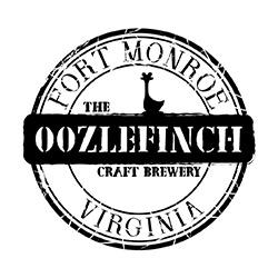 The Oozlefinch Craft Brewery - 81 Patch RoadFort Monroe, VA 23651757-224-7042www.oozlefinchbeers.com