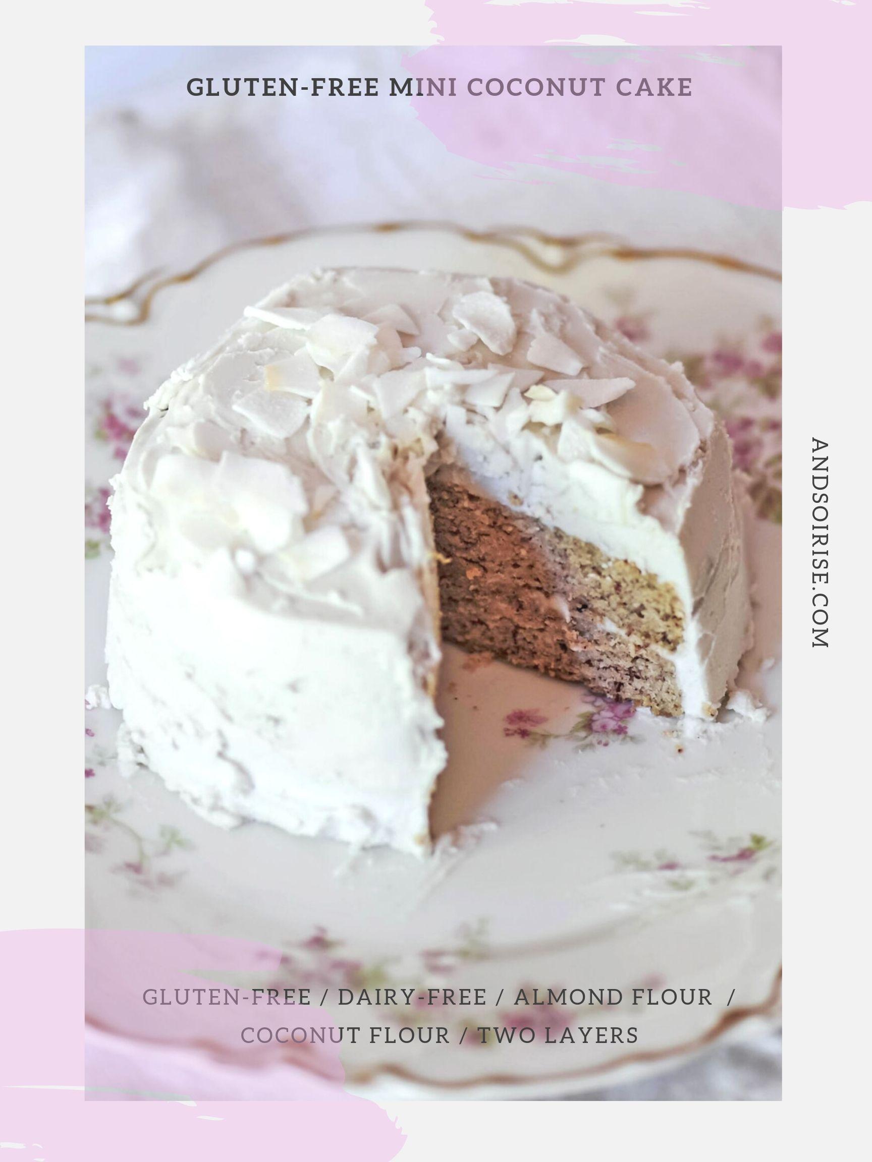 Gluten-free Mini Coconut Cake Poster