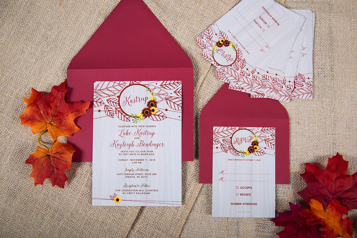 Custom Invites & Stationary - One-of-a-kind stationary createdjust for YOU and your day!