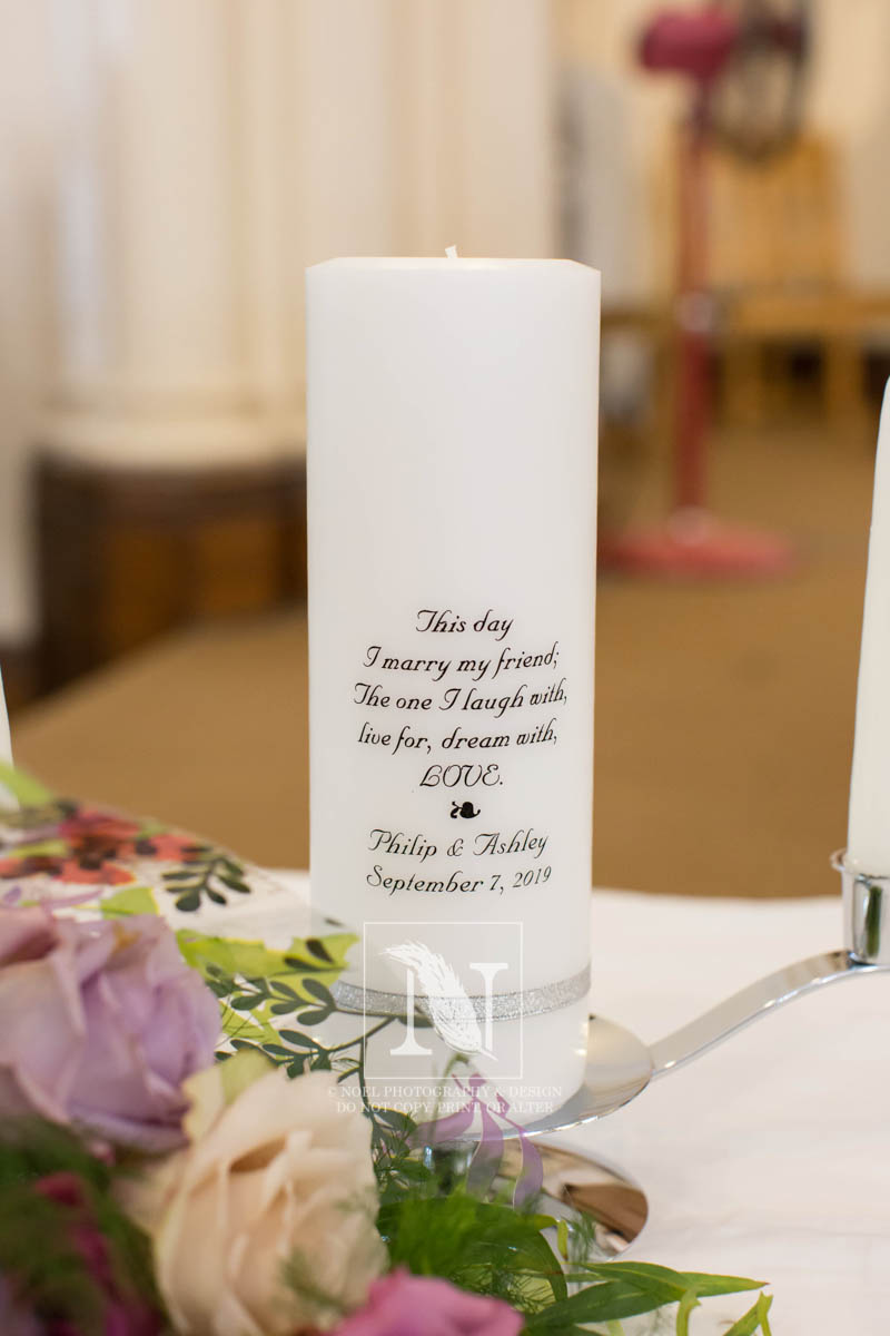 Unity Candle   © Noel Photography and Design