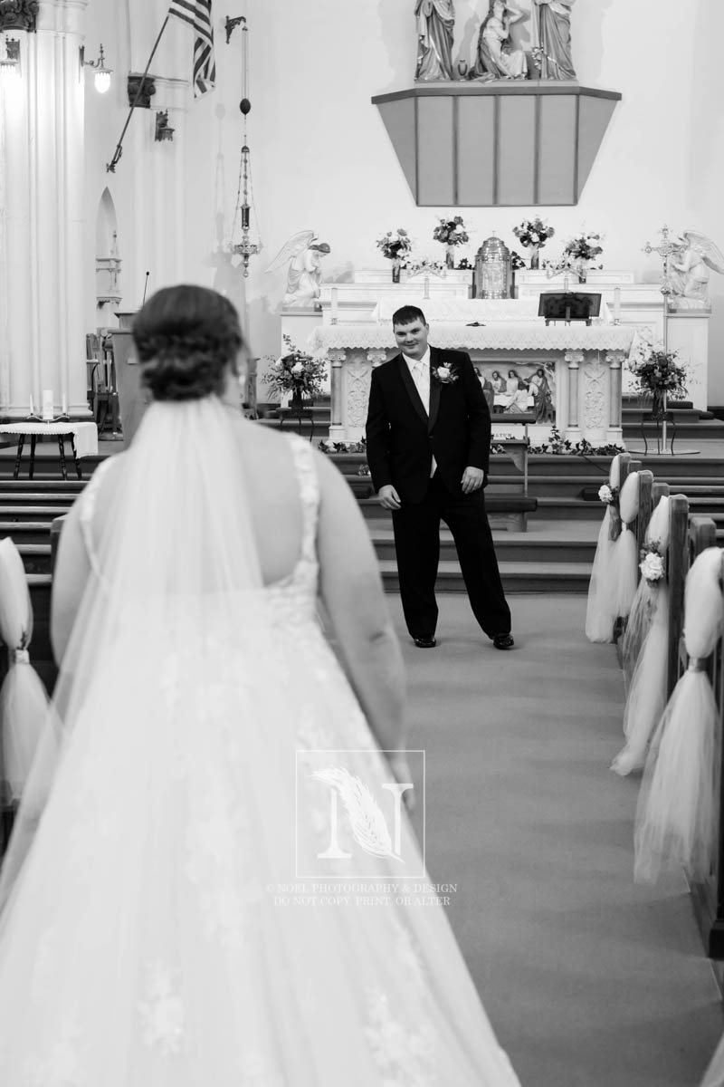 The First Look   © Noel Photography and Design