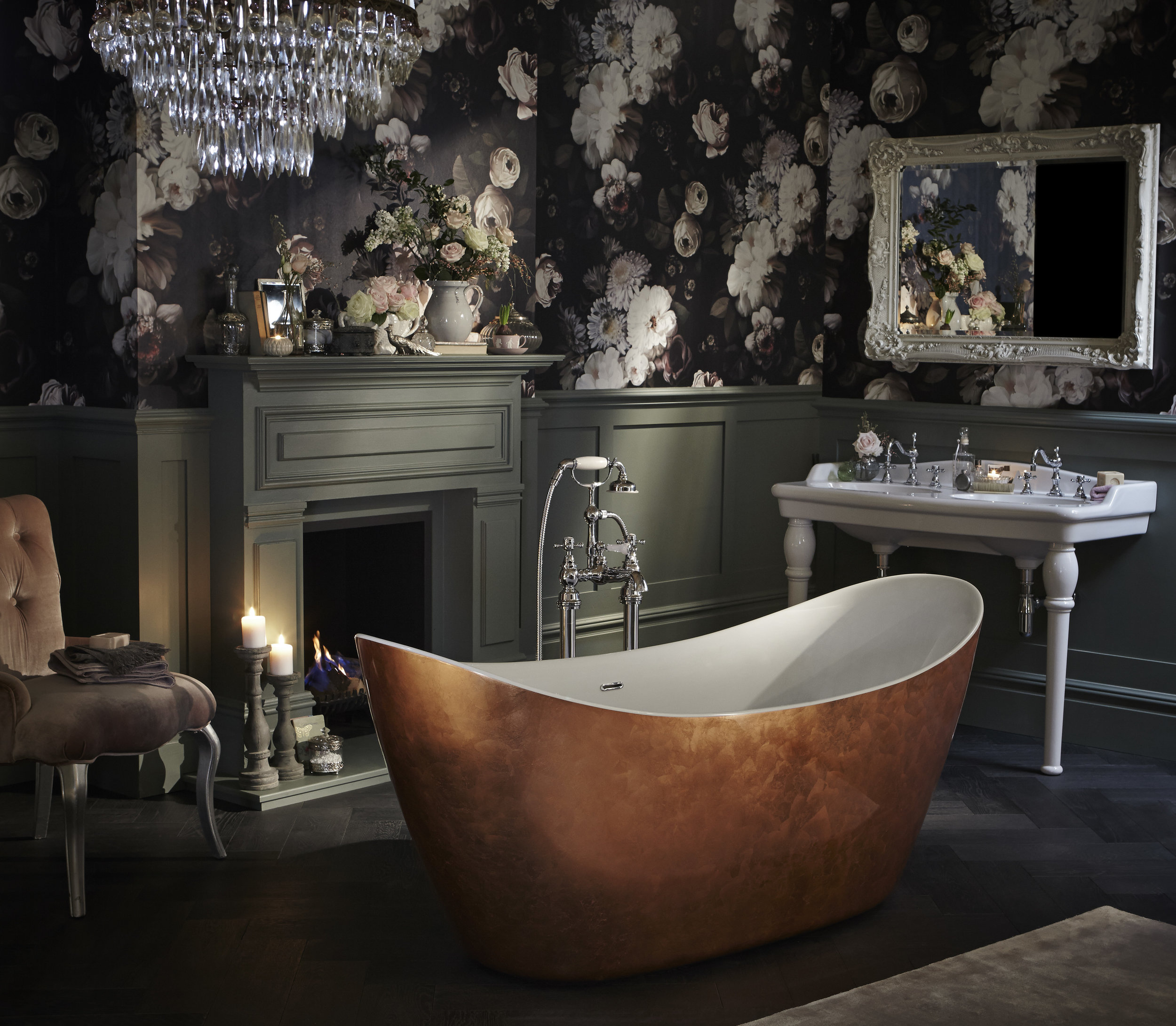 Victoria double console with Hylton copper effect bath.jpg
