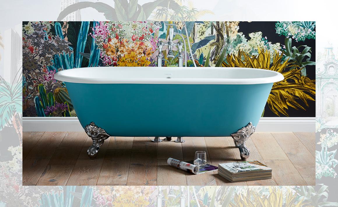 Buckingham Cast Iron Bath in blue collection.jpg