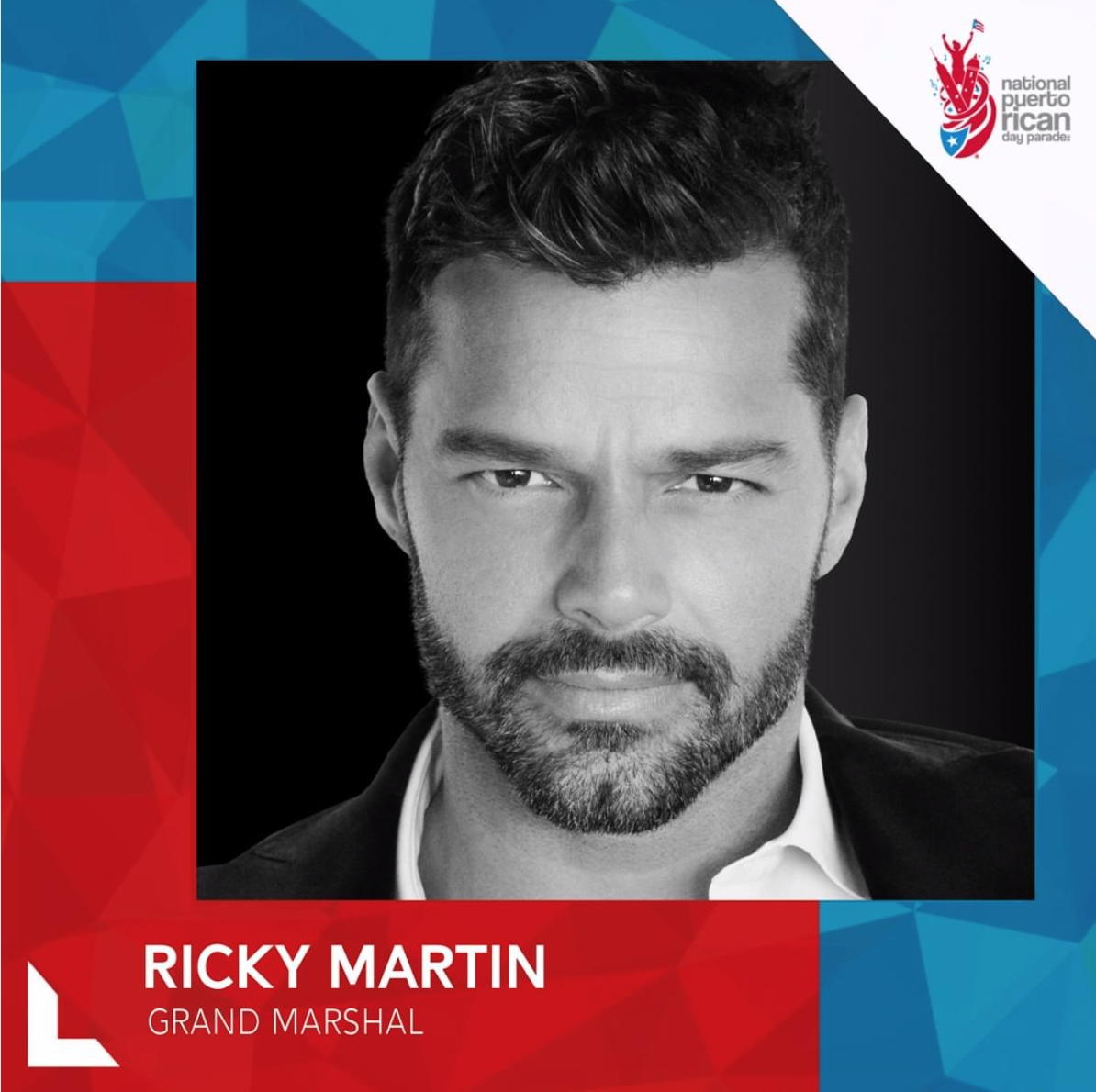 Ricky Martin Grand Marshal