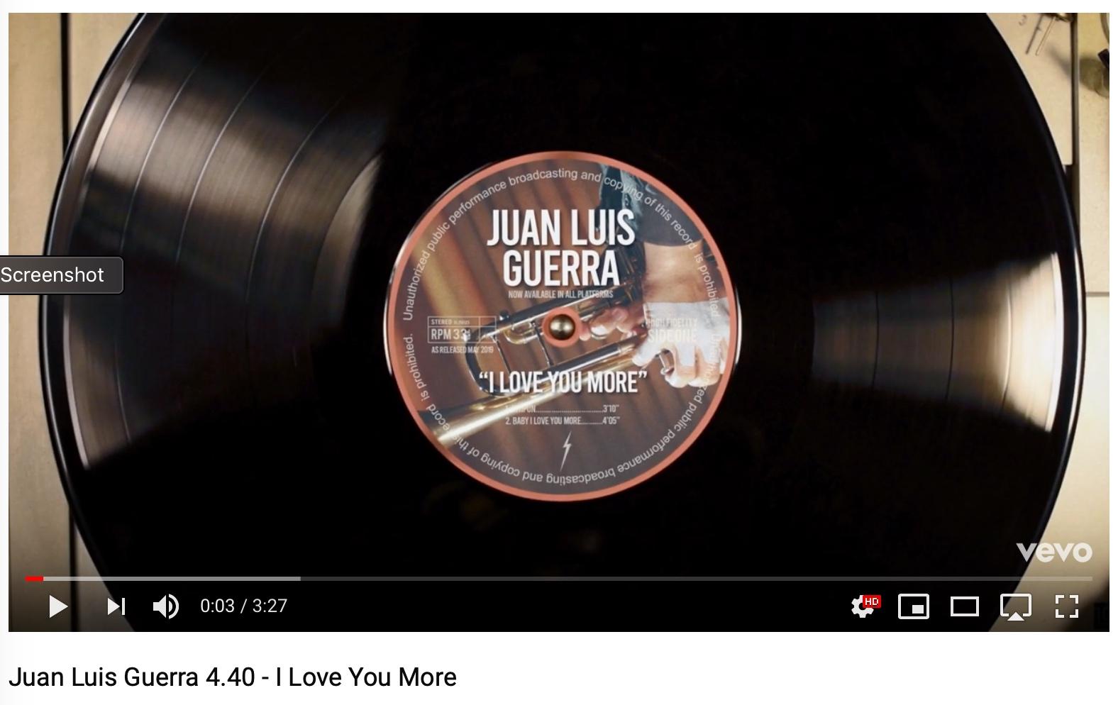 I Love You More Video - Juan Luis Guerra 4.40