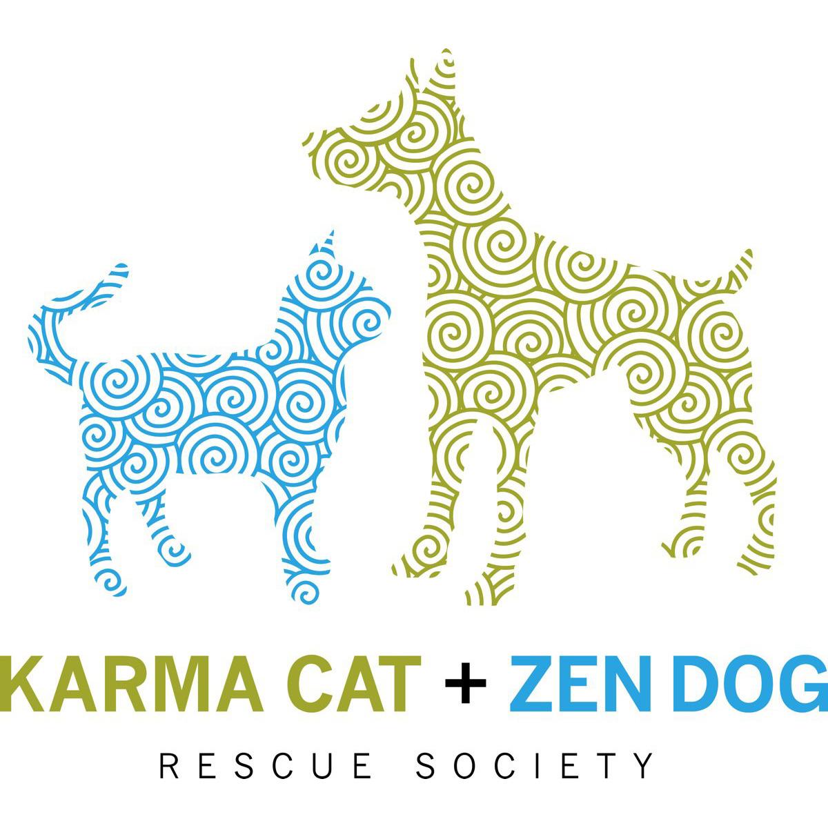 Karma Cat + Zen Dog Rescue Society