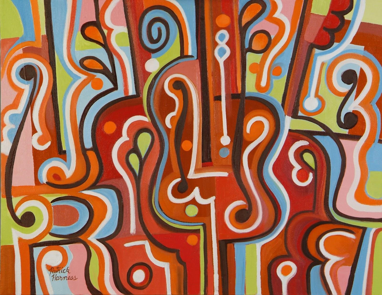 Spring Quartet - Oil on Canvas | 22