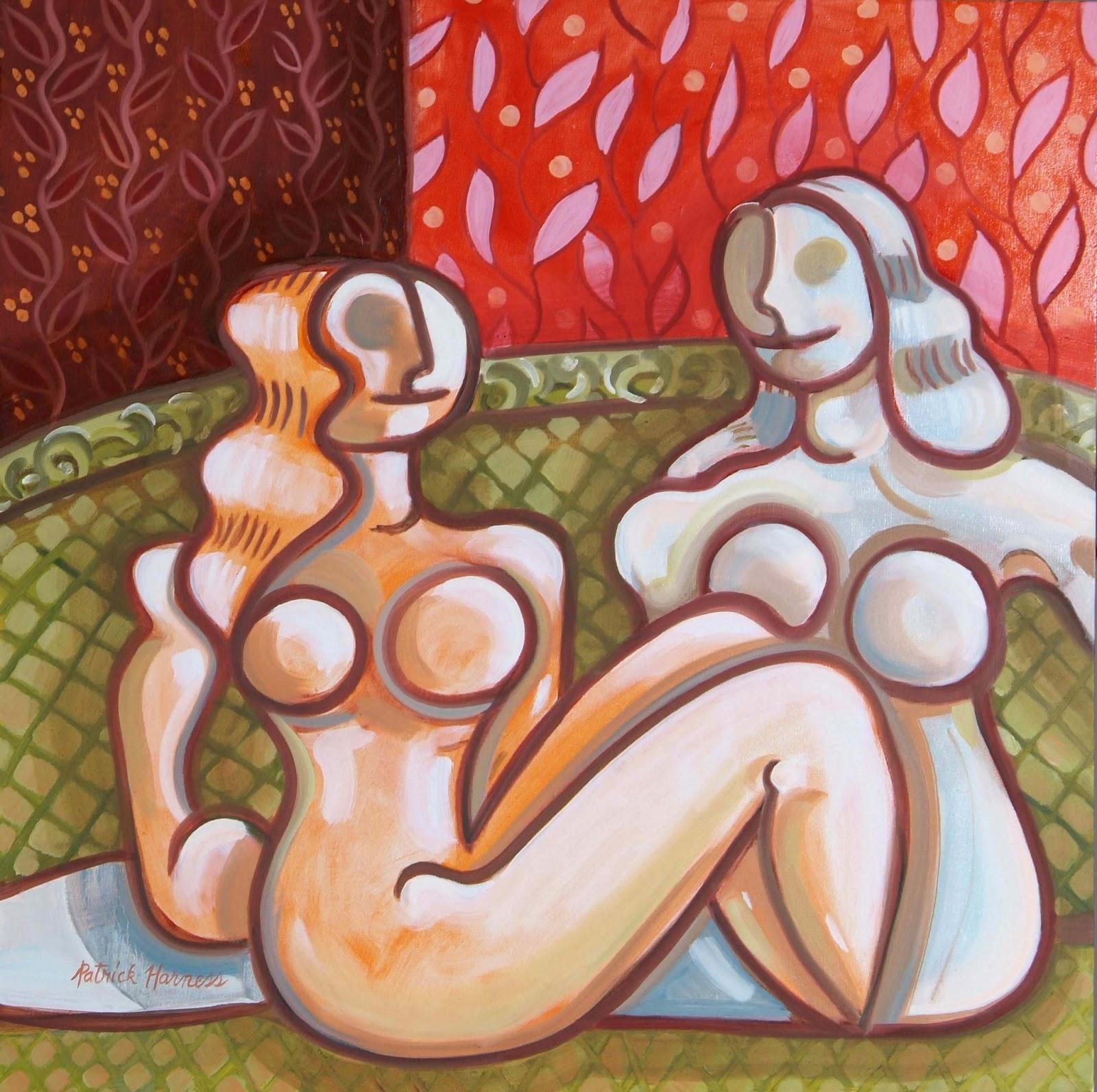 Girl Talk - Oil on Canvas | 30