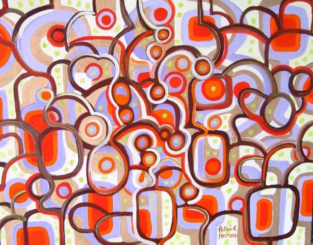 Suburbia - Oil on Canvas Framed | 22