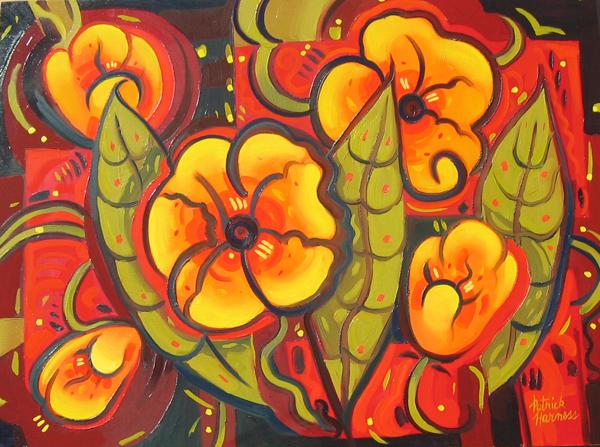 Little Shop of Florals - Oil on canvas | 30