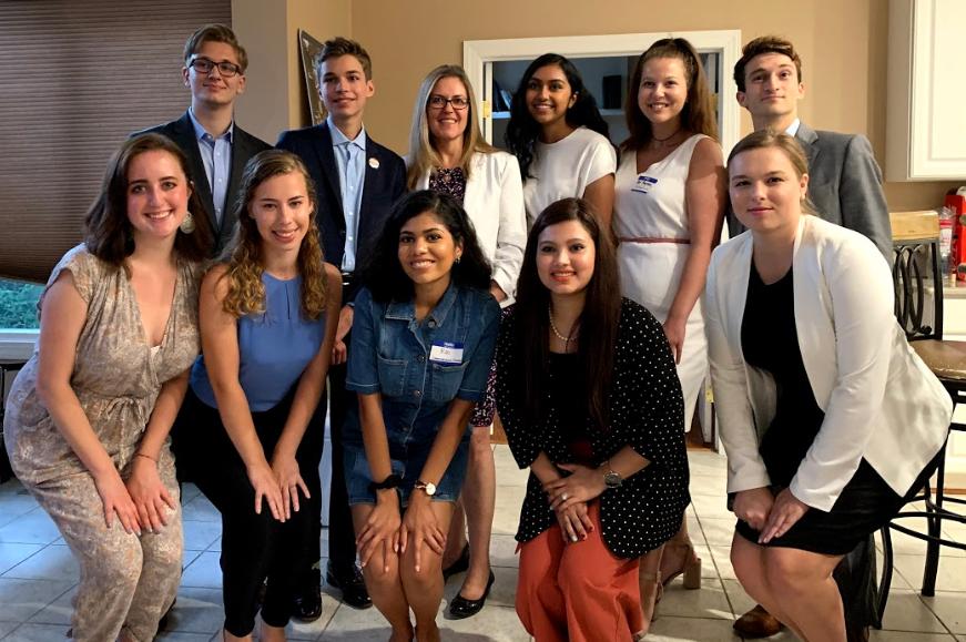 Glass interns had the opportunity to meet Congresswoman Jennifer Wexton