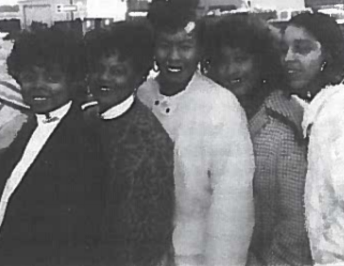 Me and my siblings Nina, Debbie, Joyce, and Mona