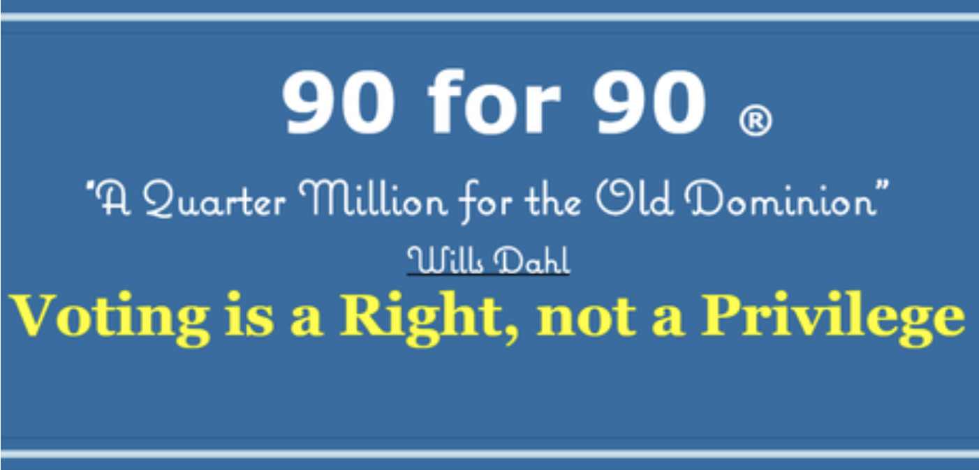 Voter Registration Advocacy Group, 90 for 90