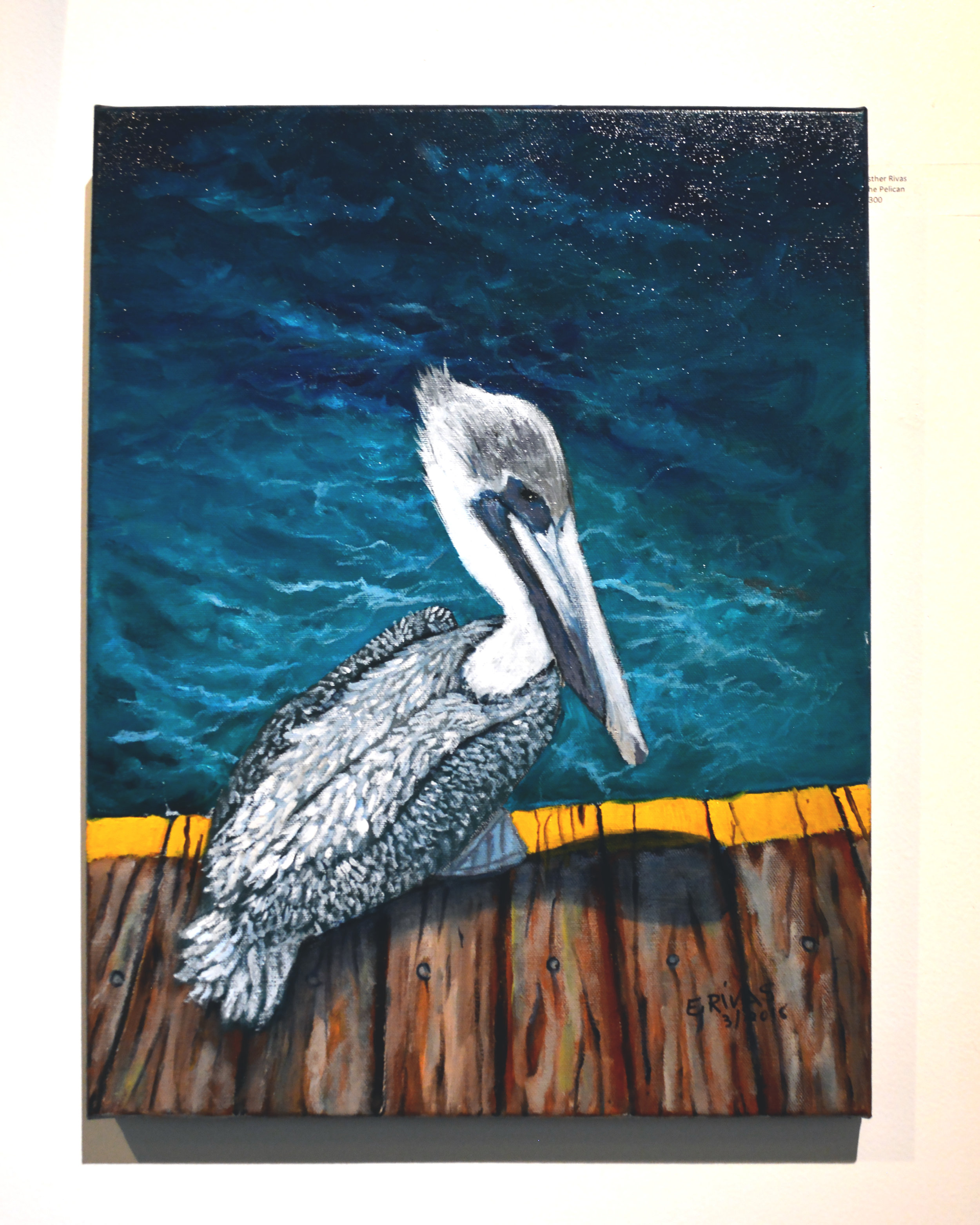 Esther Rivas - Classic oil on canvas painting animals, seascapes, American pride.