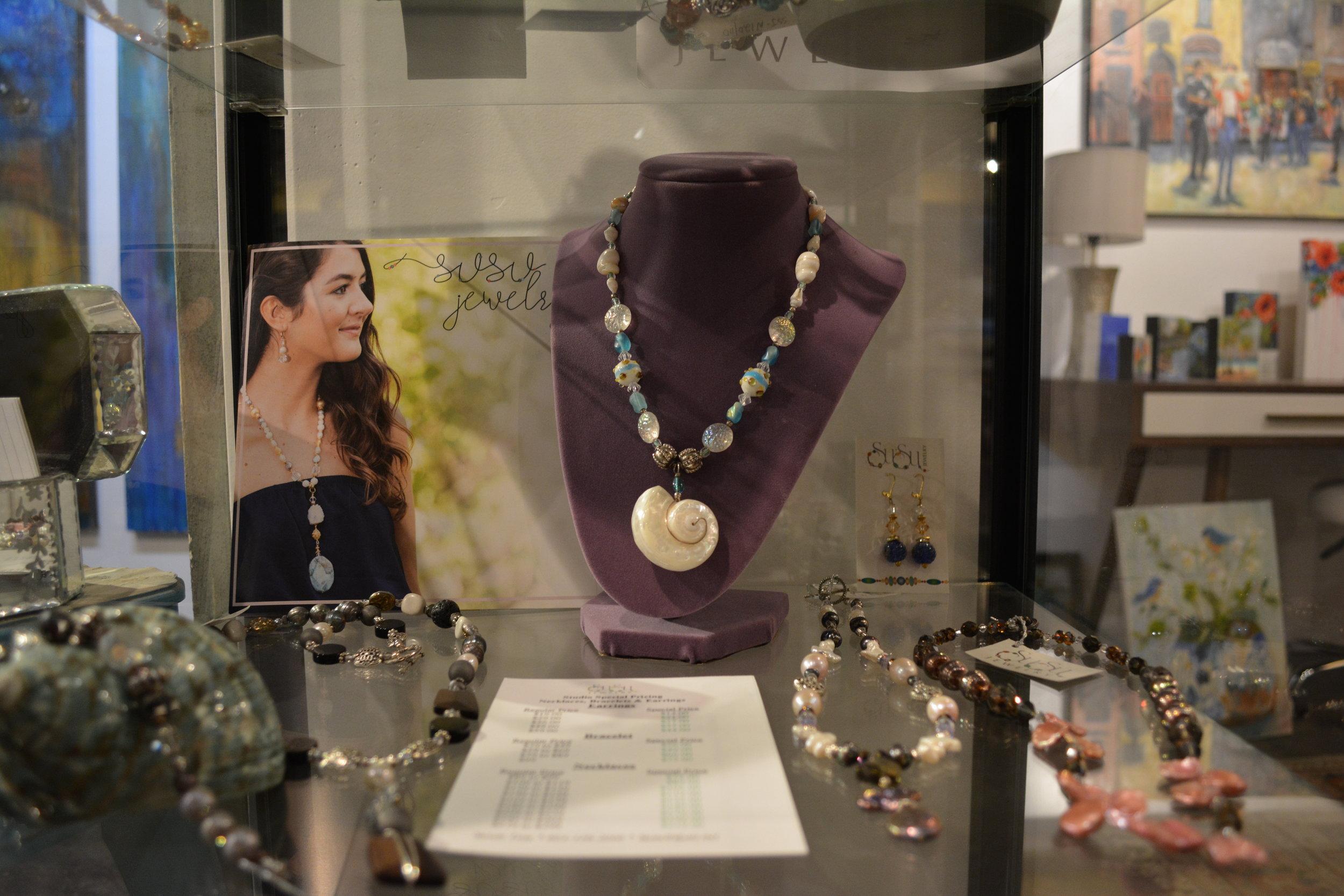 Susan Tate - SuSu Jewelry - Funky Custom and Beadwork Designs