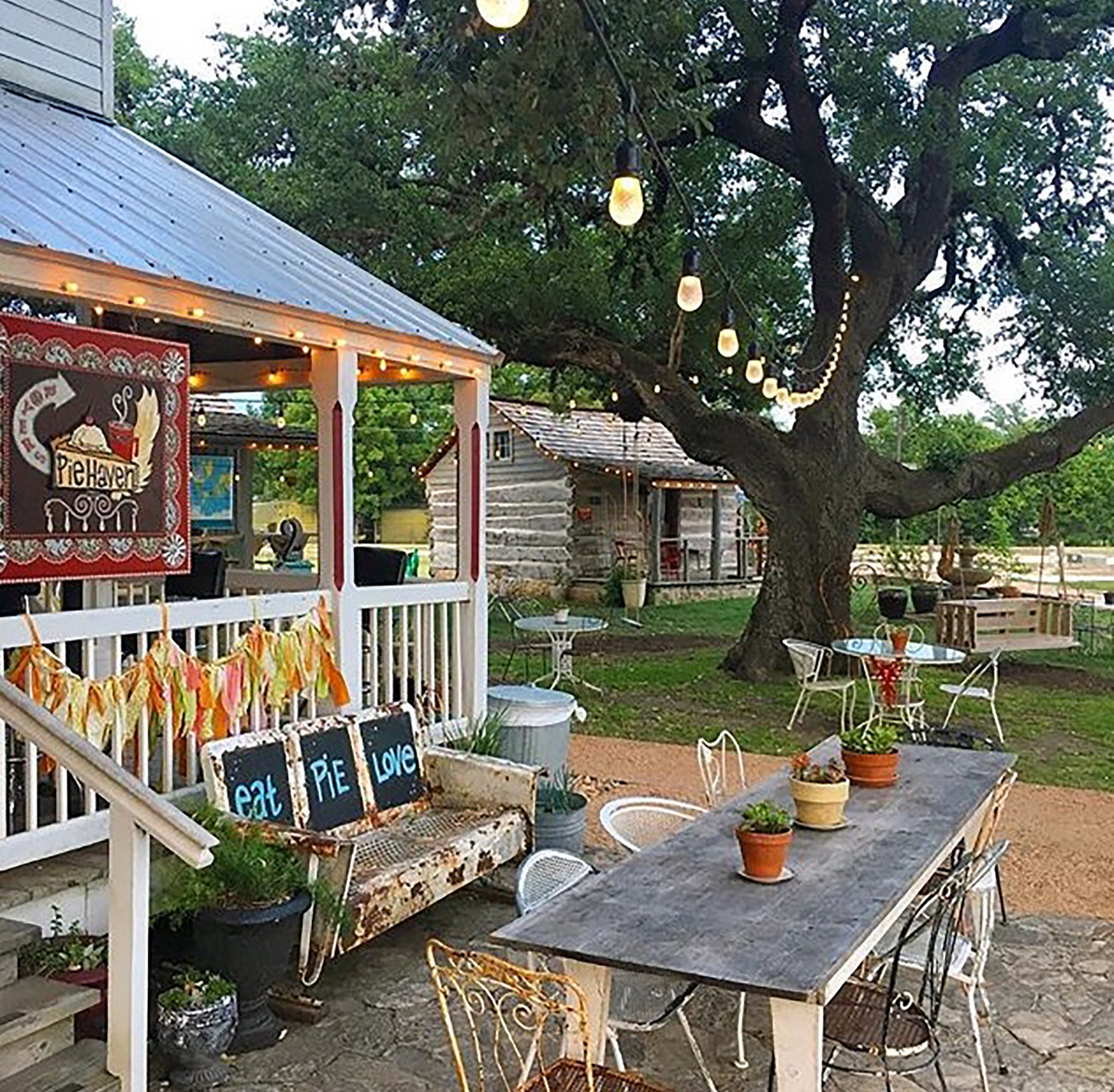 The Haven - Located under the oak trees on Henkel Square, Royers Pie Haven is the perfect place to relax with friends for a slice of pie and a cup of coffee.