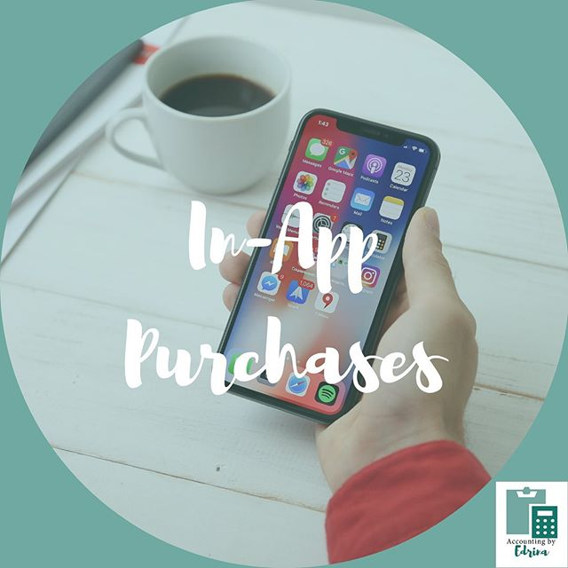 Isn't it amazing how we can purchase things on our phone with just our thumbprint? It's almost too easy! App purchases are a big budget buster. While these purchases are usually not high in dollar amount, they can add up if you're not diligent with your spending. Make sure you account for these purchases in your budget!