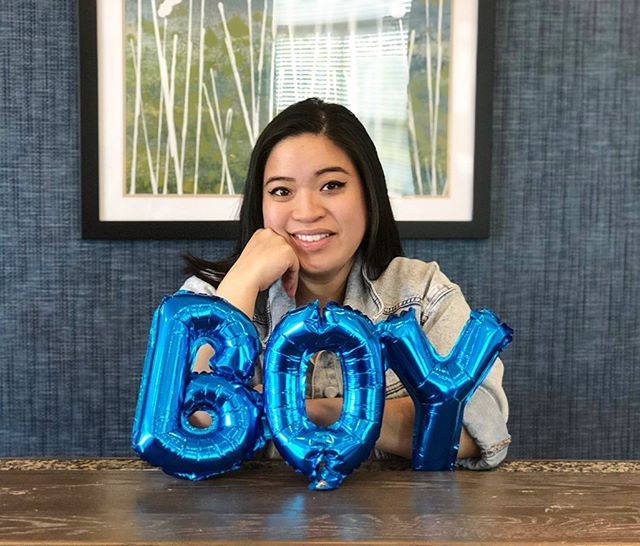 FRI-YAY 🌟 funny story — I actually got this baby boy balloon for our gender announcement and we just never got a chance to take photos together with it SO when 📸: @umcarly was in town, I decided to just add the balloon 😂 but we do plan on hanging it up above our little one's crib 💙 now, we are just thinking about how we will announce his name 🤩♥️ any ideas? . . . . #34weekspregnant #thirdtrimester #itsaboy💙 #sunshinebaby #inspirepregnancy #pregnantandperfect #pregnancyzone #pregnancydiary #dcblogger #njblogger #mdblogger #asianblogger