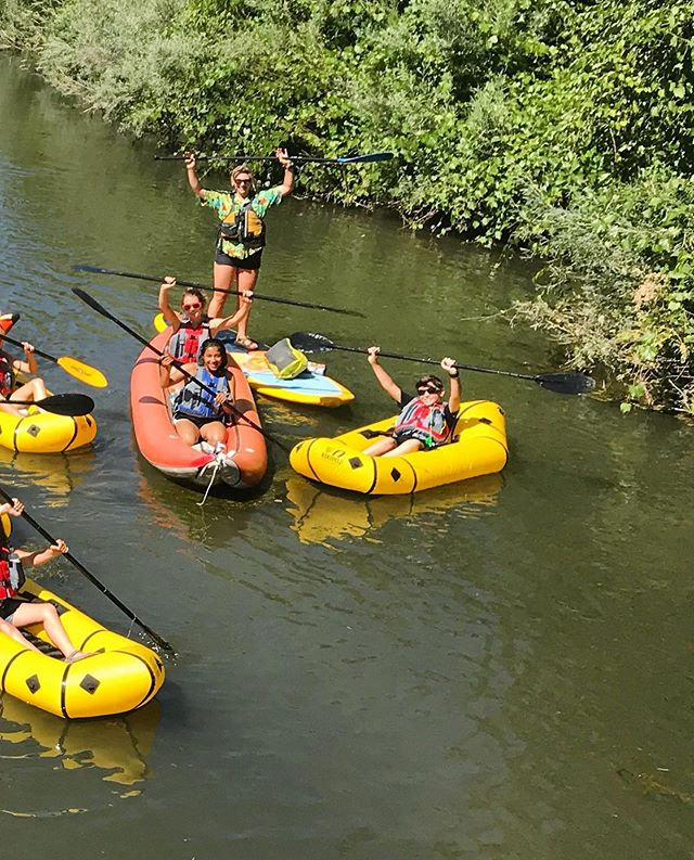 It's extra hot today and we're missing this rowdy crew of paddlers!