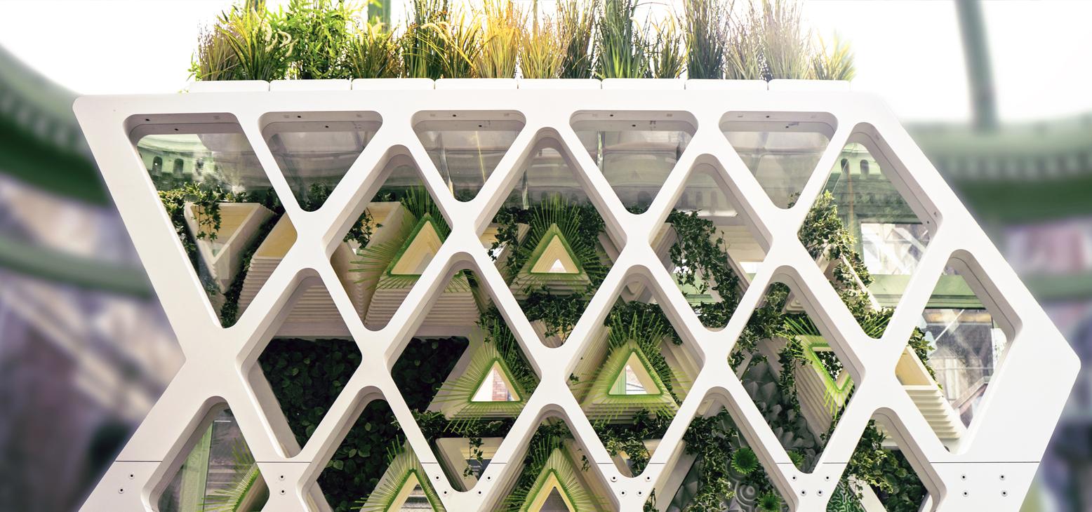 Terreform ONE:Monarch Installation built for Cooper Hewitt Museum -