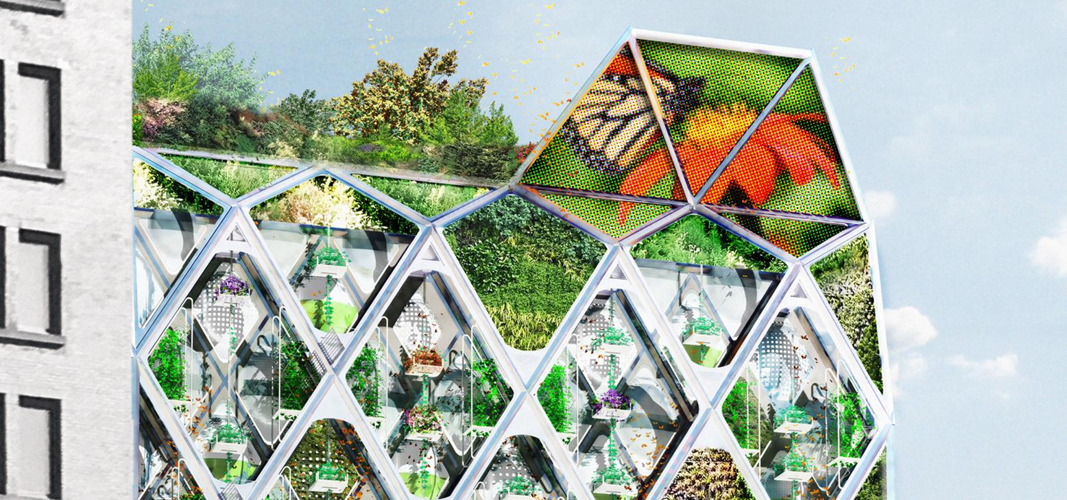 Terreform ONE:Monarch Butterfly Sanctuary Building -