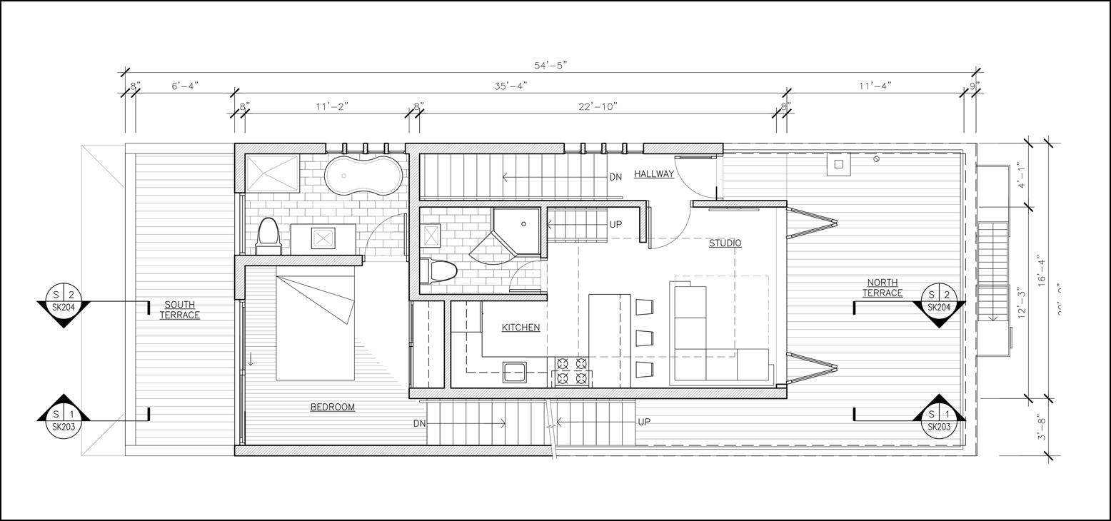 AYON Studio: Metropolitan Ave. Residence - Rooftop Addition -