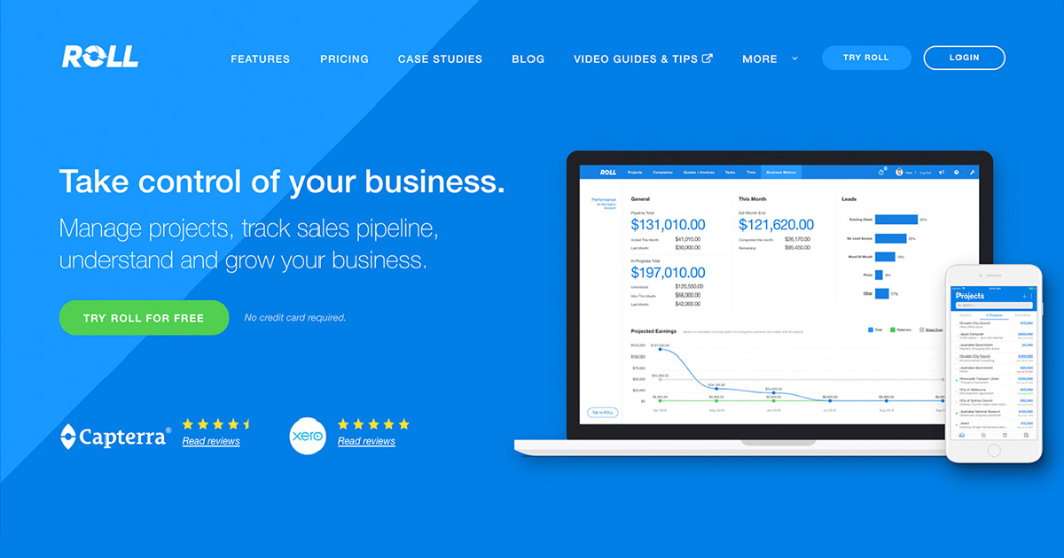 ROLL: Saas Start-up