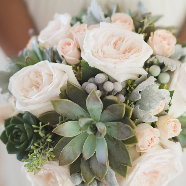 Fresh flowers - All of our pieces are custom made with you and your occasion in mind, but have a peak for inspiration.