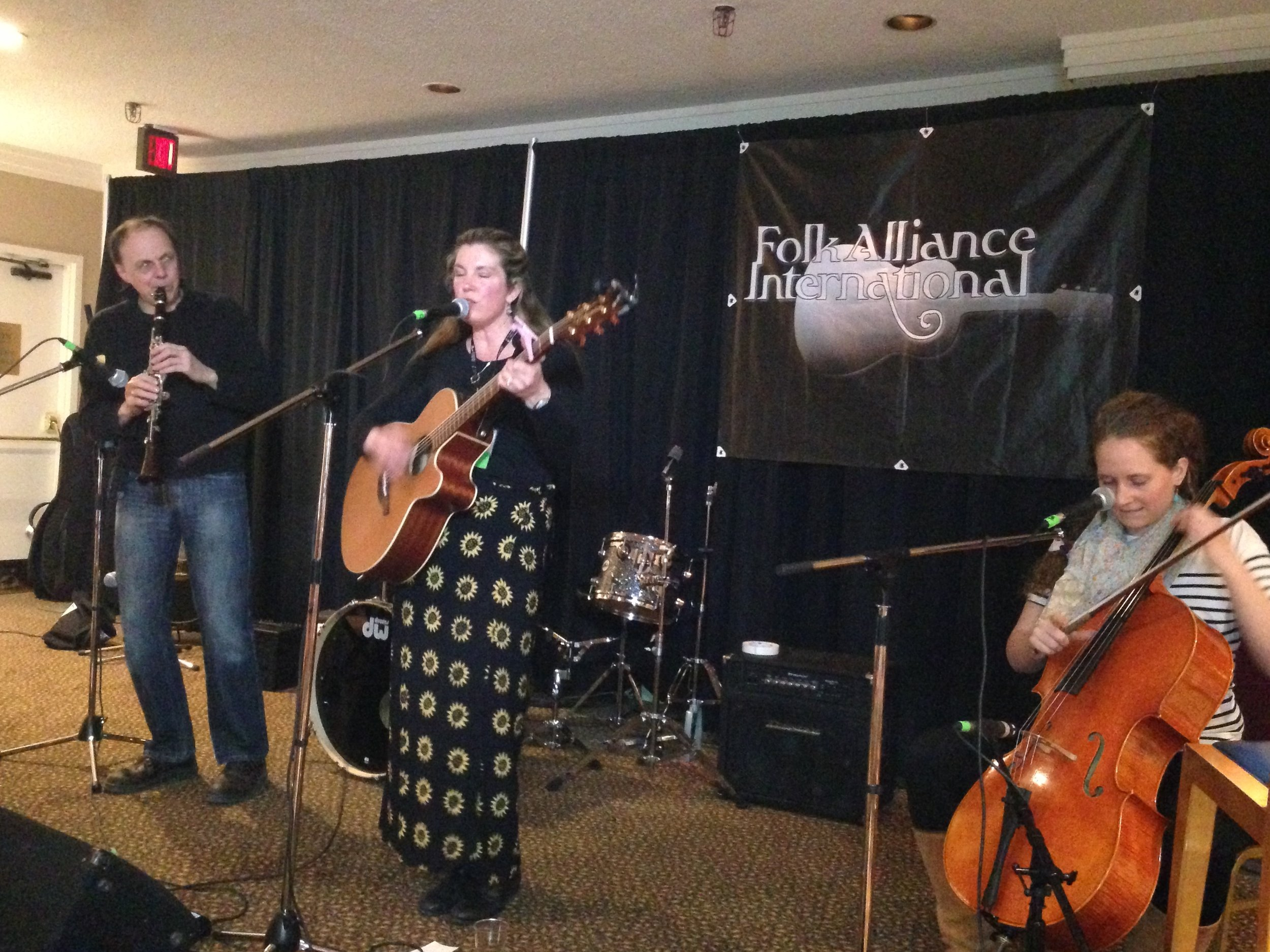 Folk Alliance | Mary Beth Cross
