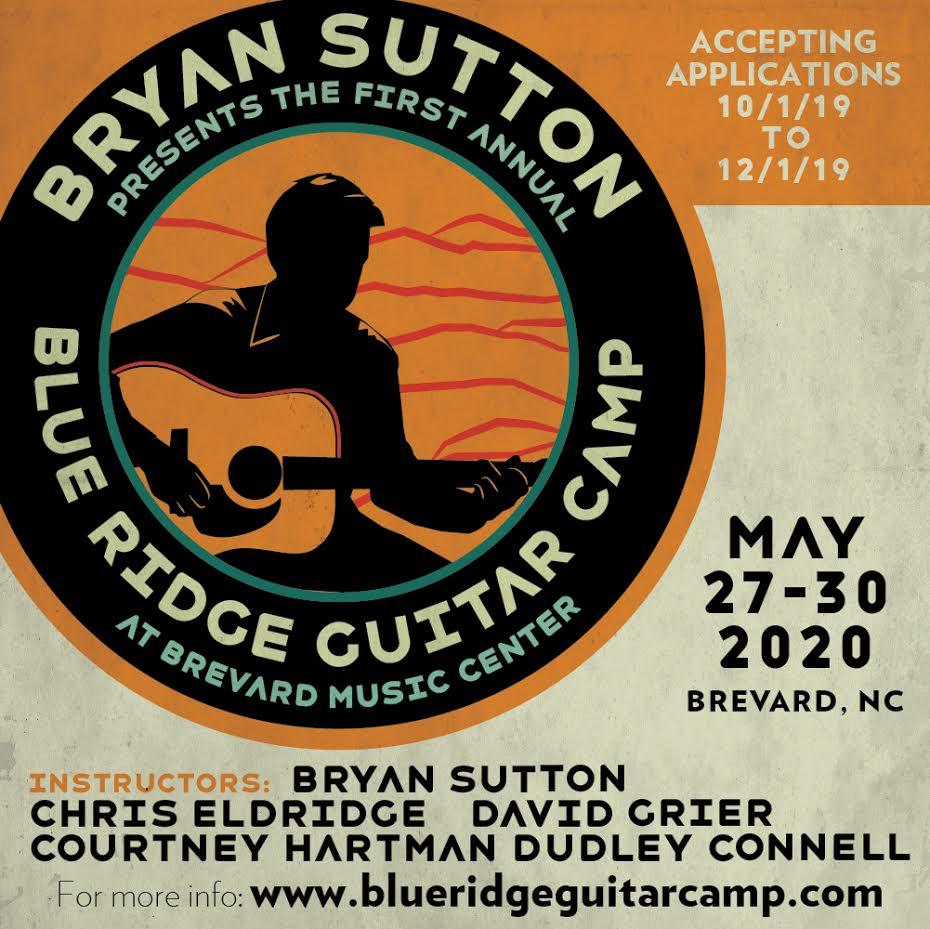 Blue Ridge Guitar Camp applications