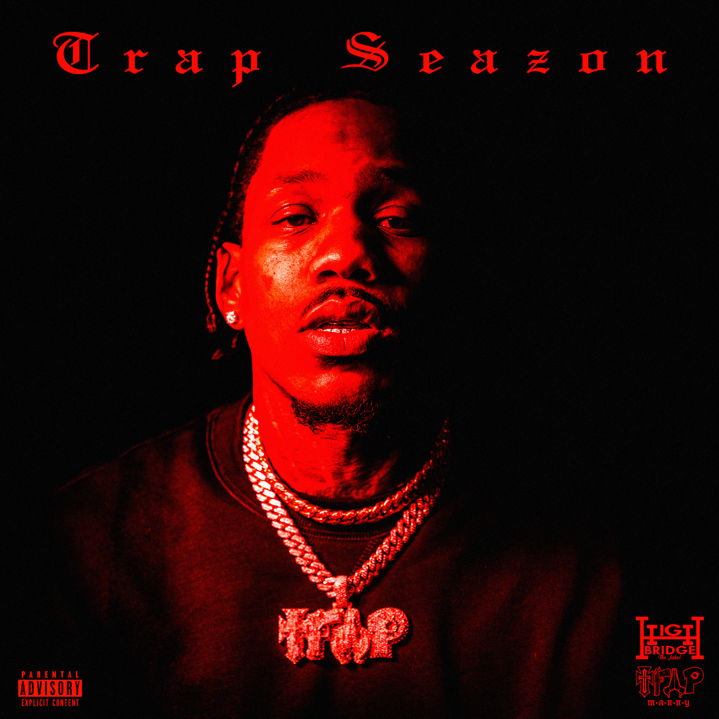Trap Manny 'Trap Season' Cover Design