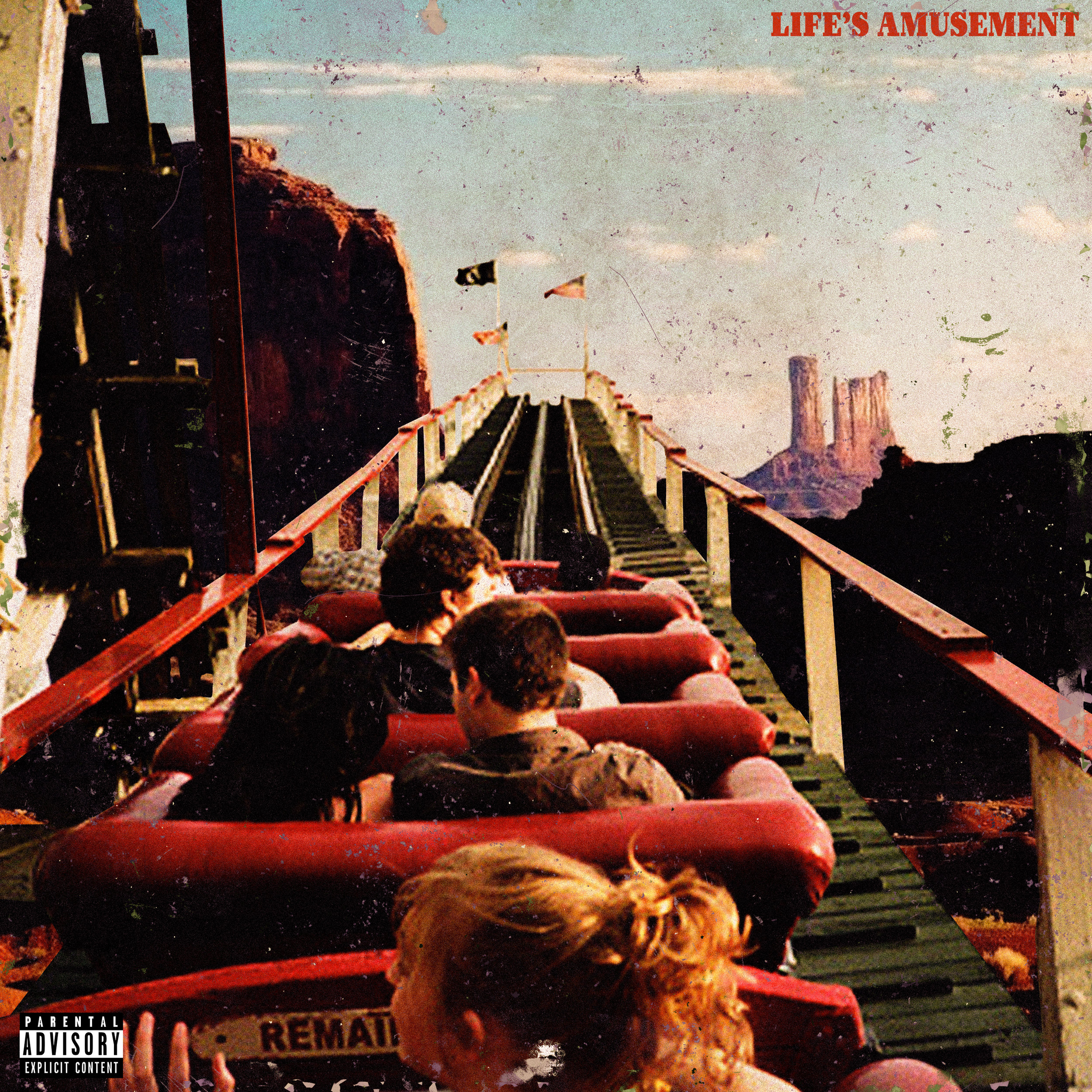 Kid Six 'Life's Amusement' Cover Design