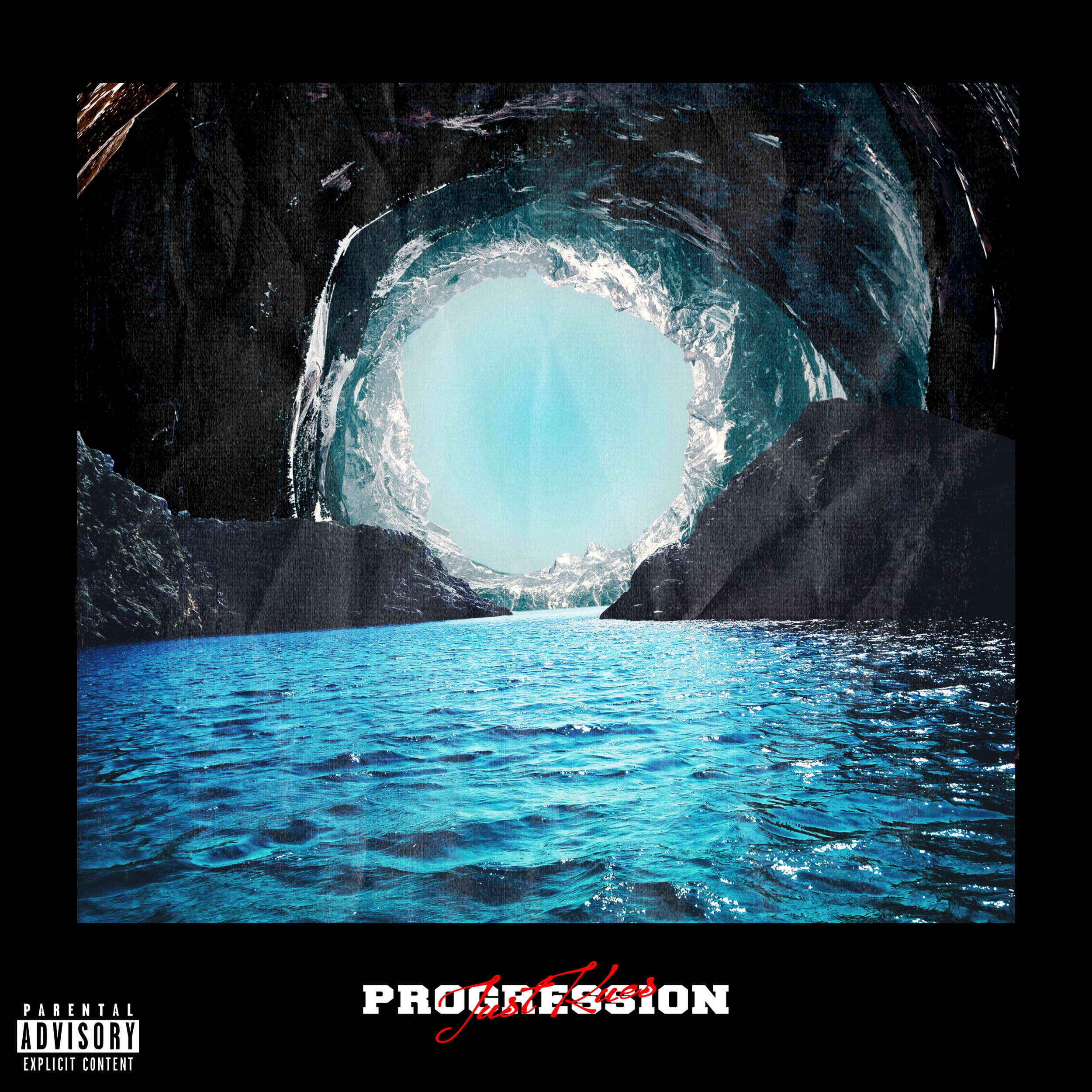 Just Kues 'Progression' Front Cover Design