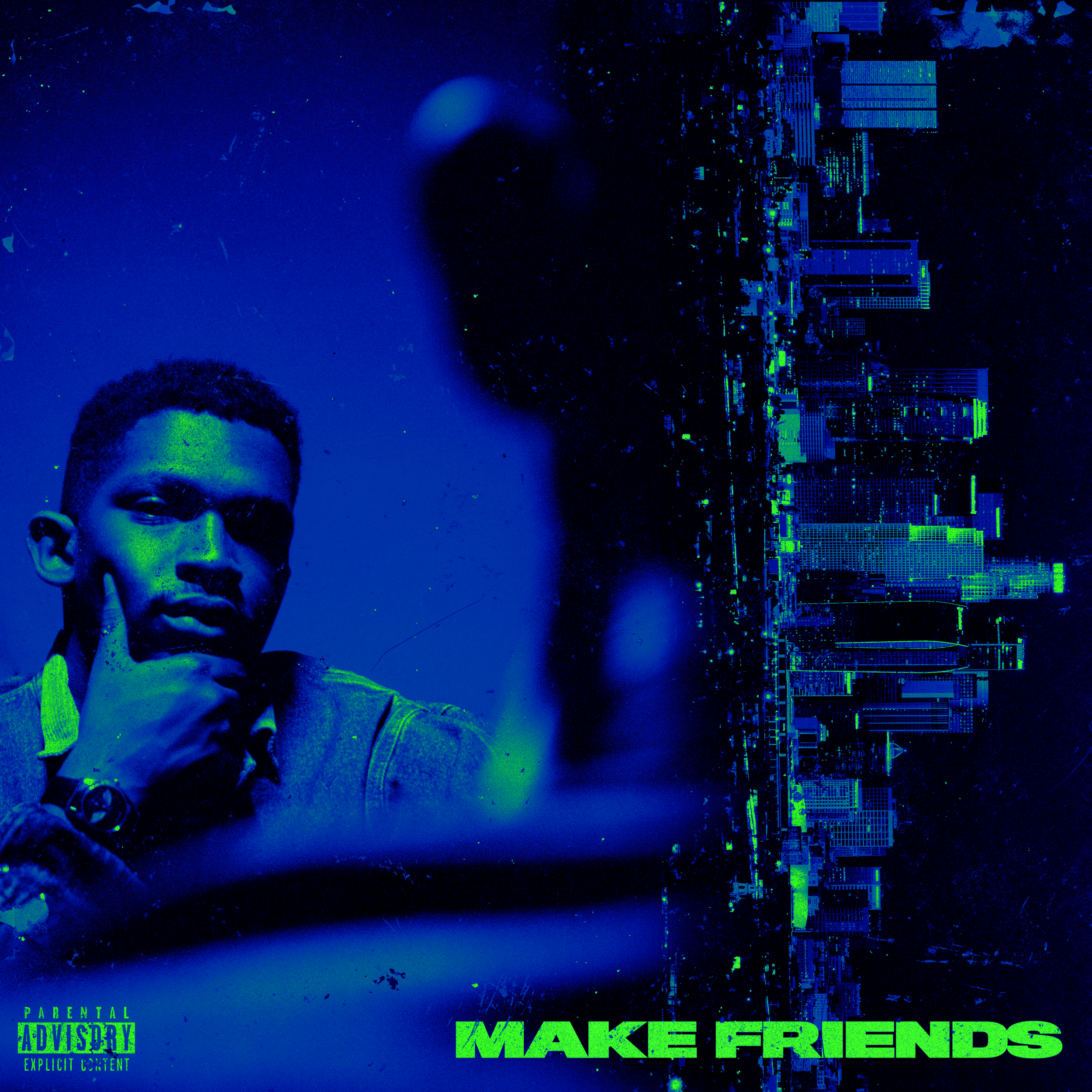 Sealy Troh 'Make Friends' Cover Art Design