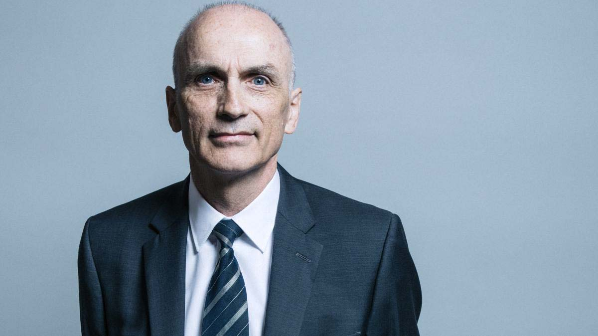 Chris Williamson said his record showed that he had stood up against bigotry all his life – CHRIS MCANDREW/UK PARLIAMENT