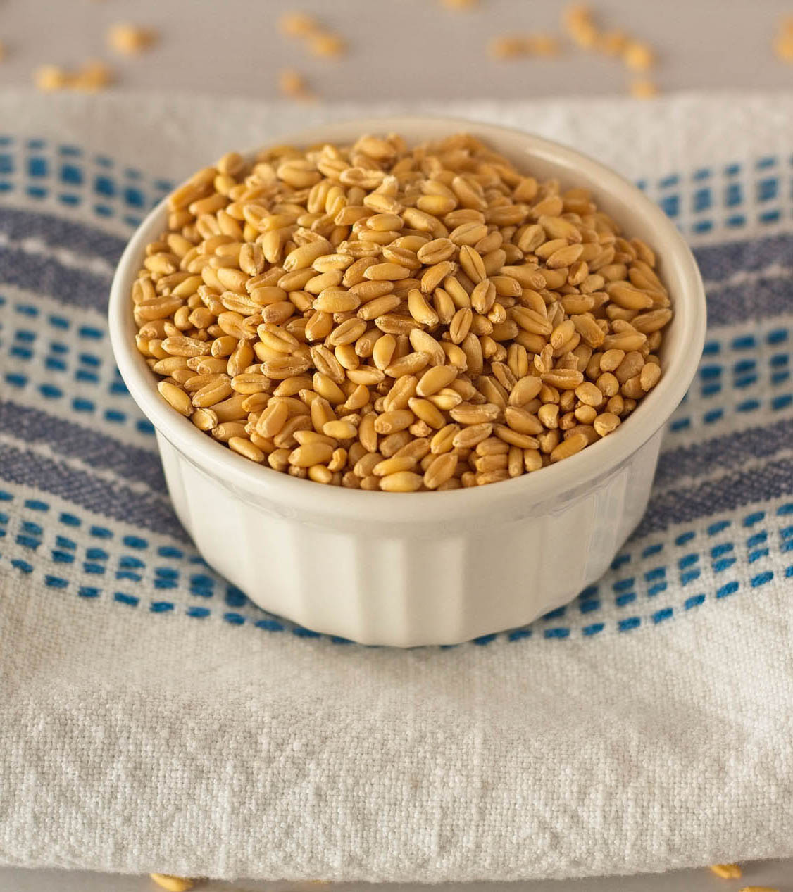 Choose Your Wheat - Balance taste with nutrition with our soft white wheat berries perfect for your family recipes.