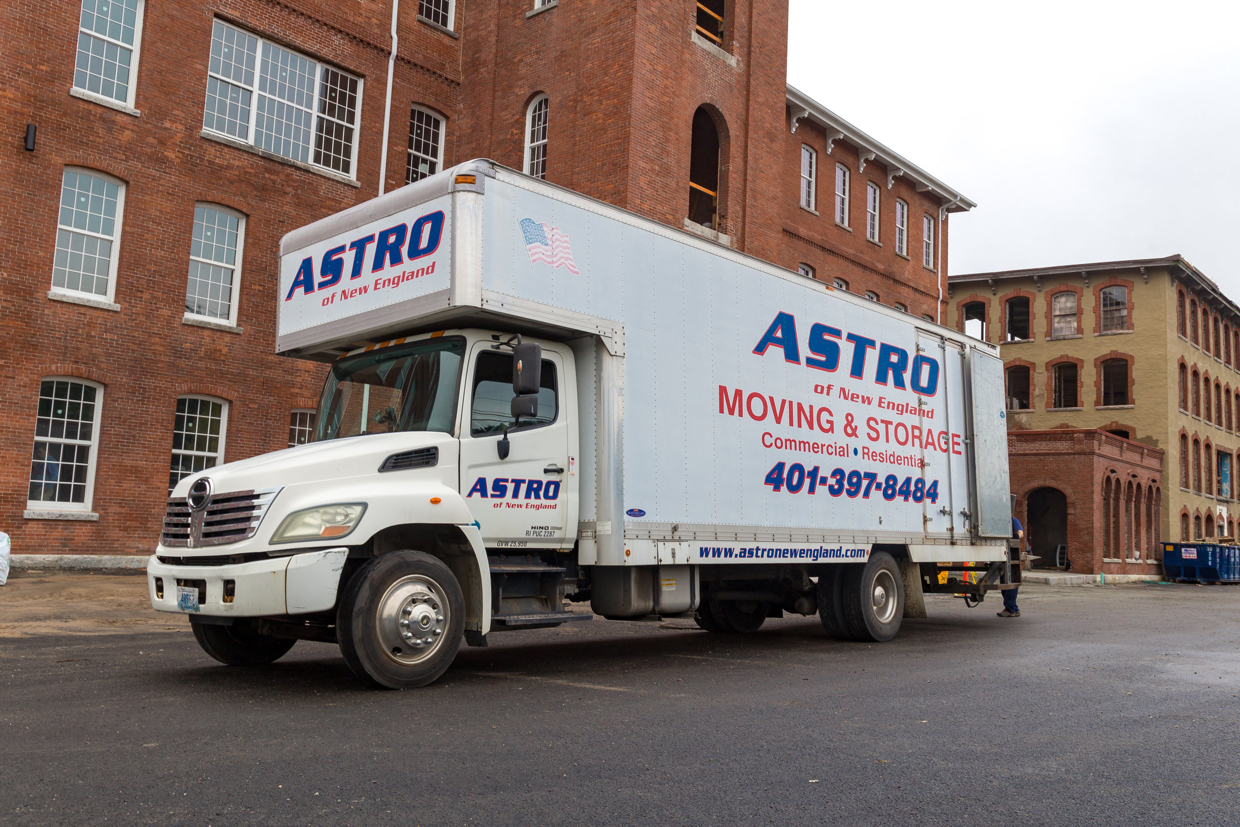 MOVING SERVICES - Same day service: RI to RI & all surrounding New England cities & towns. Overnight holds for next day delivery.