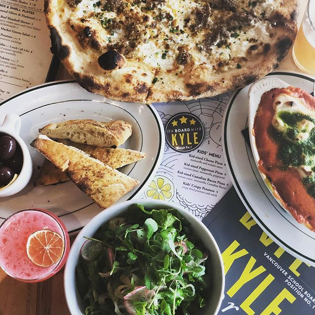 Just can't get enough of all the tasty dishes @rallypizza has to offer!! Getting excited for tomorrow's Rally for Kyle. Will you be there? Join us for $4 Escapada wine pours, Family 🍕 Night, kids' activities, raffle prizes, delicious food options for everyone, and more!! Support an awesome local business, hang out with @kylesproulvpsp1 and meet some new friends. See you there!! #onboardwithkyle #rallypizza #familypizzanight #vancouverusa #supportlocal #eatlocal #vegan #glutenfree #pizza #dranks #wine #vote #pizzaparty