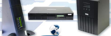 1kVA - 3kVA TRUE ON-LINE UPS - High Output Power Factor - 0. 9 PFTrue on-line, double conversion topologySine-wave output with less than 2.5% THDMulti-Function, interactive control panel and LCDHigh Efficiency (HE) and Free-Run Mode
