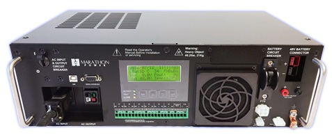 CALTRANS APPROVED RUGGEDIZED TRAFFIC BBS - High Power 2000VA / 1500W Line Interactive topology with 48VDC bus.