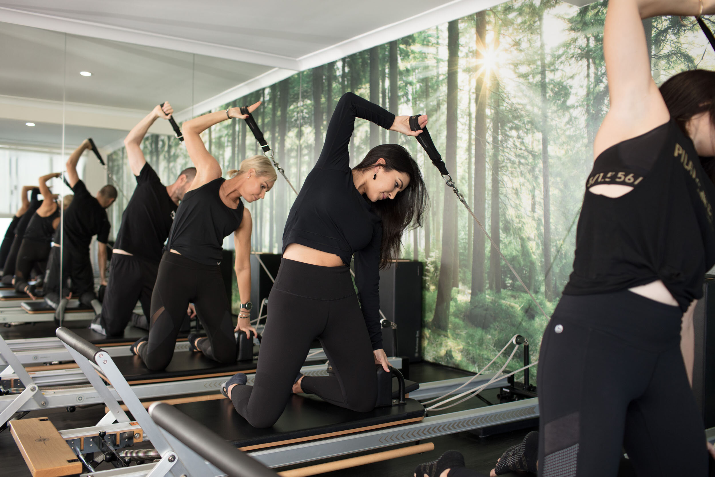 We hadn't tried reformer Pilates before, so we were a little. The team are so kind and supportive – they helped us every step of the way and transformed our confidence.