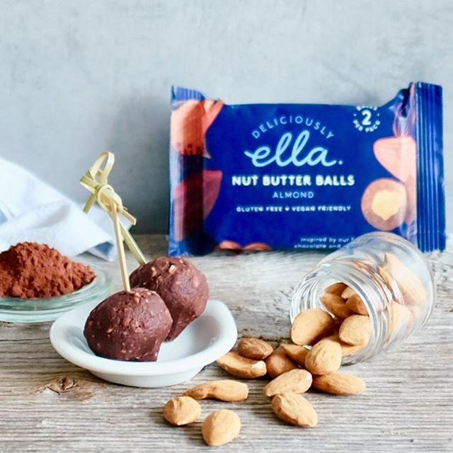 ...and then there were NUT BUTTER BALLS🥰 @deliciouslyella  A lovely combination of 🎶enchanting nuts, 💛wonderful texture that melts like 🐝honey in your mouth... You asked, we deliver. Still very excited about our new Partner Chef in London.  Have a great day & make sure to drink a lot too as the temperatures are rising🔆🔆🔆