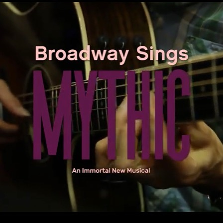 Tomorrow, get ready for another #BroadwaySingsMYTHIC music video with a brand new Broadway performer! #mythicmondays #justyouwaitandsee