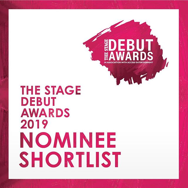 """We are so incredibly honored to have @marcusstevensny and @oraneldor be nominated in the """"Best Composer/Lyricist"""" category for @thestageuk #DebutAwards. Congrats Gents!"""
